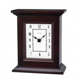 Bristol Solid hardwood table clock B1531