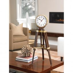 Rowayton Tripod Pendulum Mantel Clock with Harmonic 2 Triple Chime movement B1656