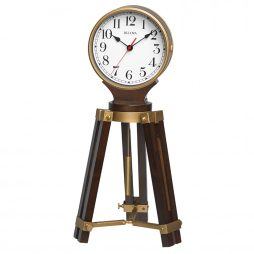 Rowayton Tripod Pendulum Mantel Clock with Harmonic 2 Triple Chime movement B1656 - Collapsed