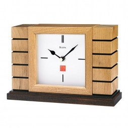Frank Lloyd Wright Usonian II Mantel Clock B1659