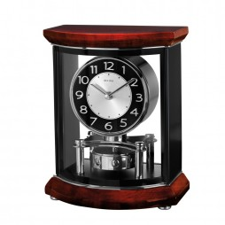 Bulova Gentry Mantel Clock with Revolving Pendulum B1718