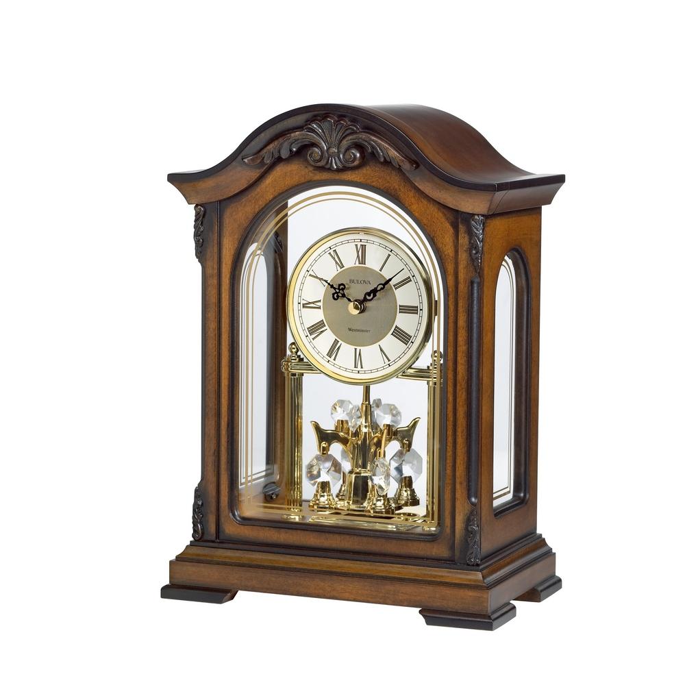 Non Chiming Mantel Clocks
