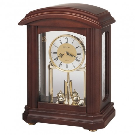 Bulova Nordale Mantel Clock Model B1848