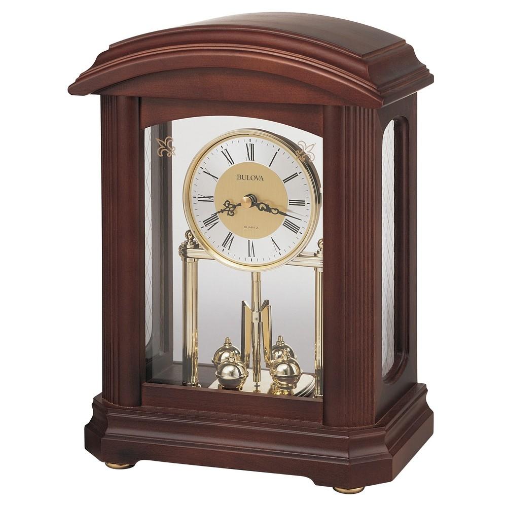 Bulova Nordale Mantel Clock Model B1848
