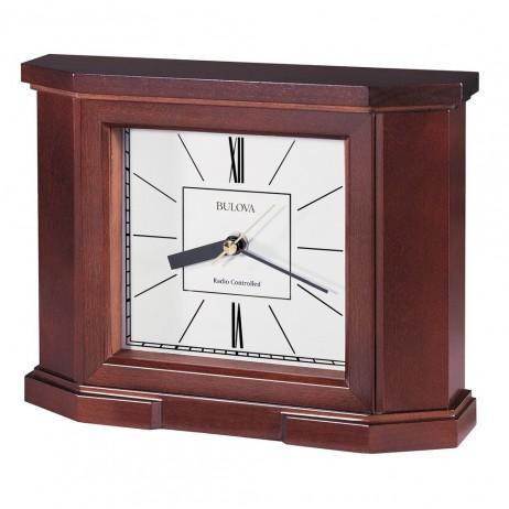 Bulova Altus Radio Controlled Mantel Clock B1854