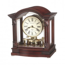 Chiming Mantel Clock - Bulova Bardwell B1987