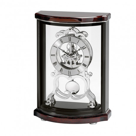 Bulova Wentworth Mantel Clock With Skeleton Movement B2025