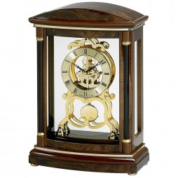 Bulova Valeria Mantel Clock With Skeleton Movement Model B2026