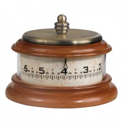 Bulova Tolland Tape Measure-Style Clock B2626
