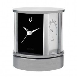 President Rotating Executive Desk Clock and Weather Station B5006