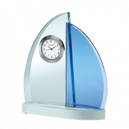 Windswept III Sailboat Desk Clock B6215