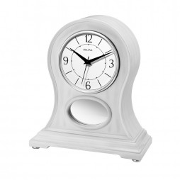 Merrick Bluetooth-enabled Mantel Clock with Wireless Speaker System B6216