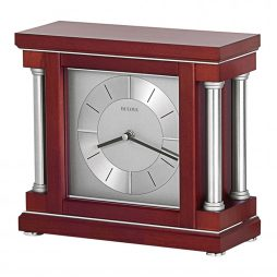 Ambiance Contemporary Mantel Clock Bulova B7651