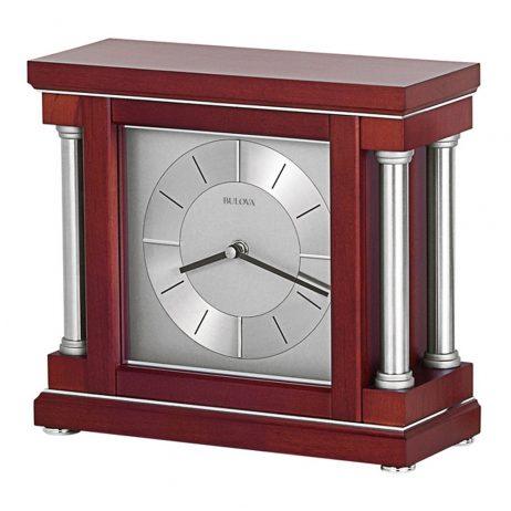 Ambiance Contemporary Mantel Clock Bulova B7651
