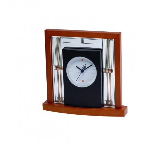 Bulova Frank Lloyd Wright Willits Table Clock Model B7756