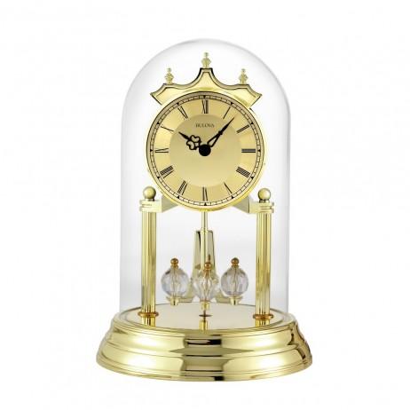 Bulova Tristan I Gold Anniversary Clock  B8818