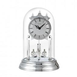 Bulova Tristan II Silver Anniversary Clock  B8819