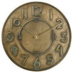 Frank Lloyd Wright Exhibition Wall Clock C3333