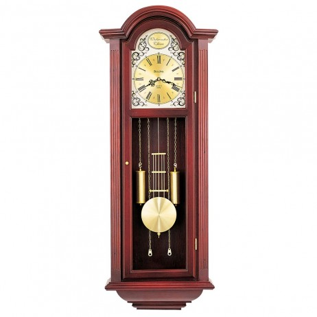 Chiming Pendulum Wall Clock Bulova Tatianna C3381