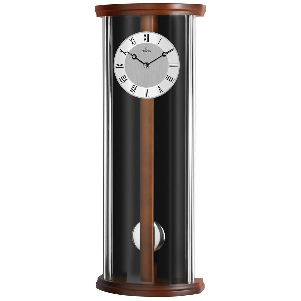 bulova colton contemporary wall clock c3382