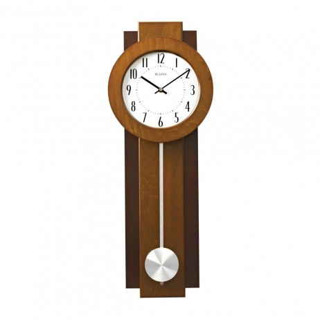 Avent Wood Case Contemporary Wall Clock C3383