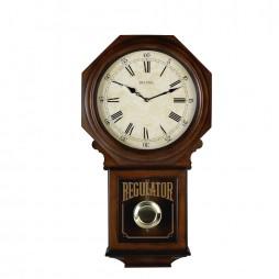 Bulova Ashford Regulator Wall Clock Model C3543