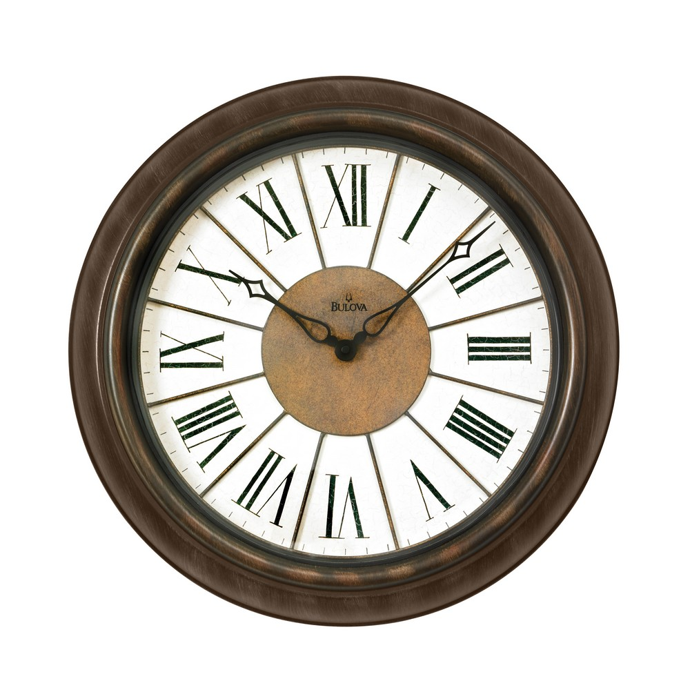 newington indoor outdoor wall clock c4107