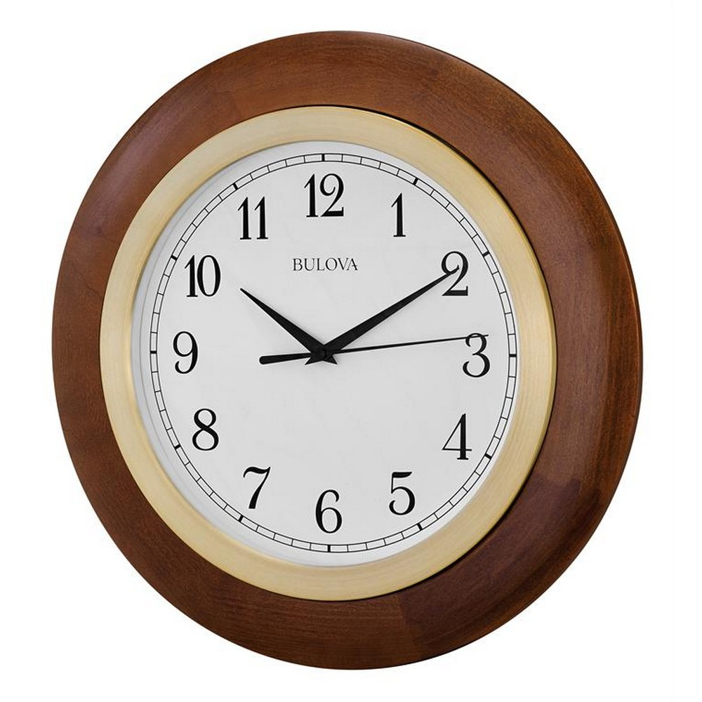 Wall Clocks Bulova Zeypher Wall Clock C4219