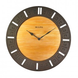 Tephra Wood Frame Wall Clock C4372