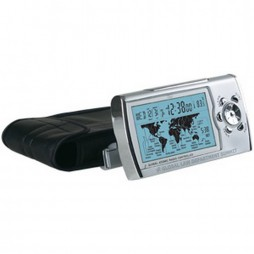 World Sync Radio Controlled Travel Alarm Clock