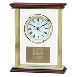 Chass Premiere Four Pillar Table Clock 72410