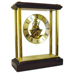 Chass Belvedere Mantel Clock With Skeleton Movement 72772