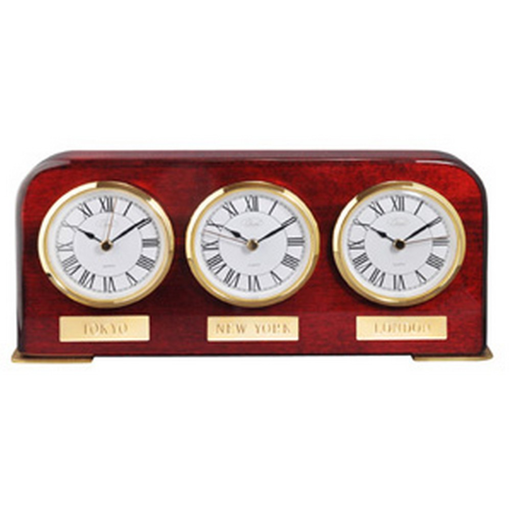 Chass Multi Time Zone Desk Clock 72975