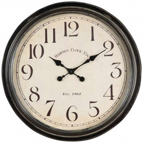 Large Wall Clocks Whitley 24 1 2 Inch Wall Clock Www