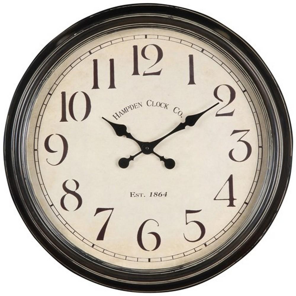 Large Wall Clocks Whitley 24 1 2 Inch Wall Clock Www