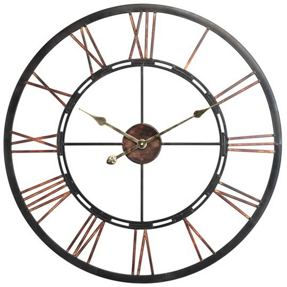 home clocks timepieces wall clocks mallory 27 5 inch large wall clock