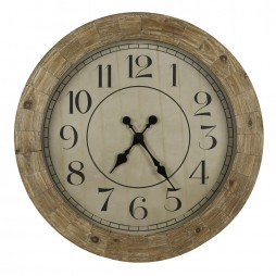 Fairbanks  31 1/4-Inch Wall Clock 40354