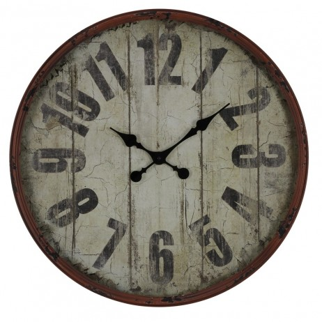 Oleshia  23 1/2-Inch Wall Clock 40544