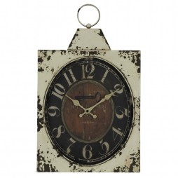 Dasha 20-Inch Antiqued Wall Clock 40547