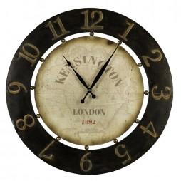 Atish Wall Clock | Cooper Classics Distressed Wall Clock 40596