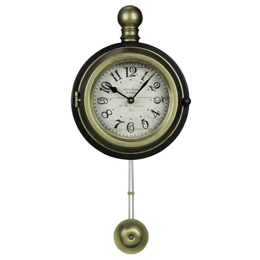 Harmen Decorative Wall Clock Cooper Classics 40729
