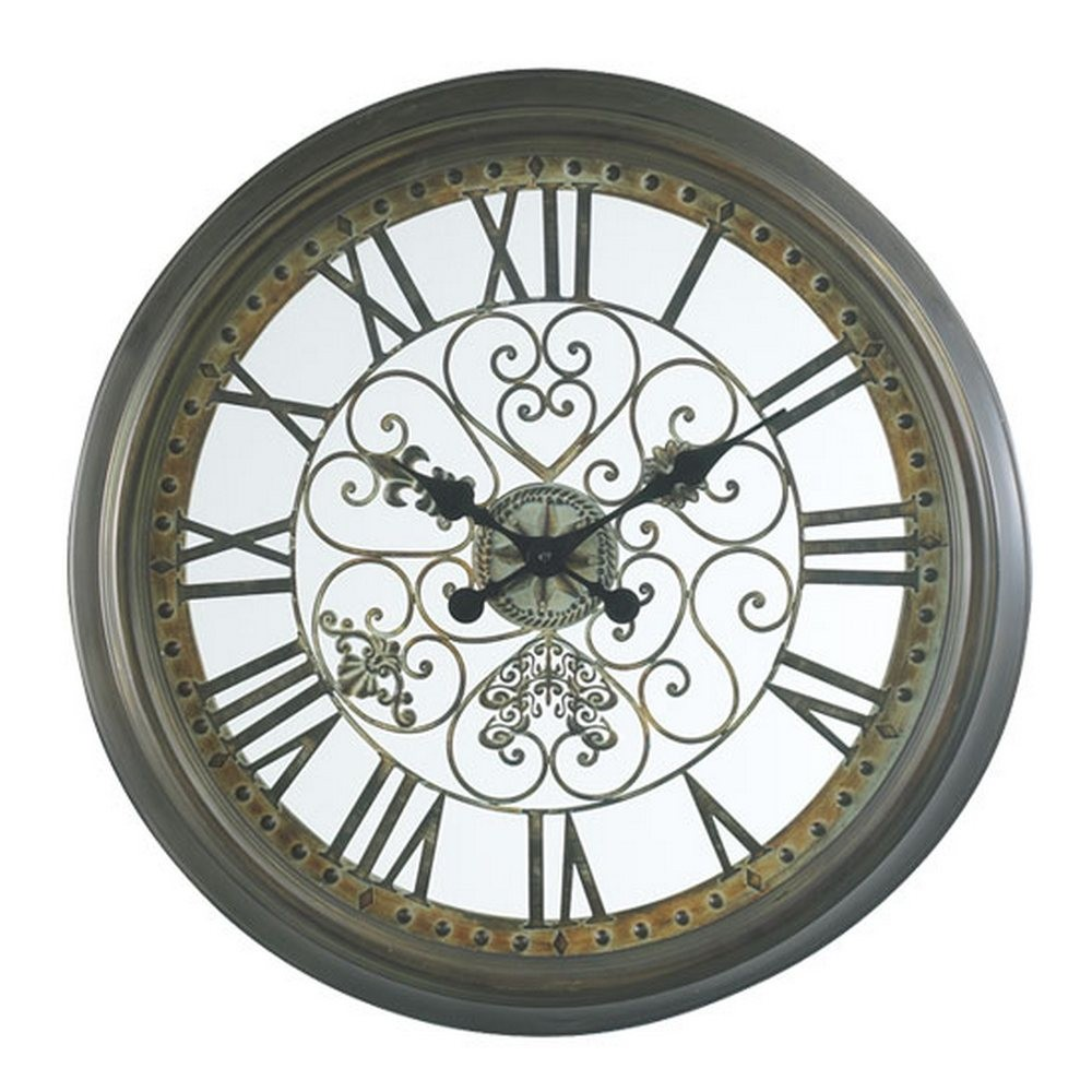 Decorative Wall Clocks Marlow 24 1 2 Inch Wall Clock