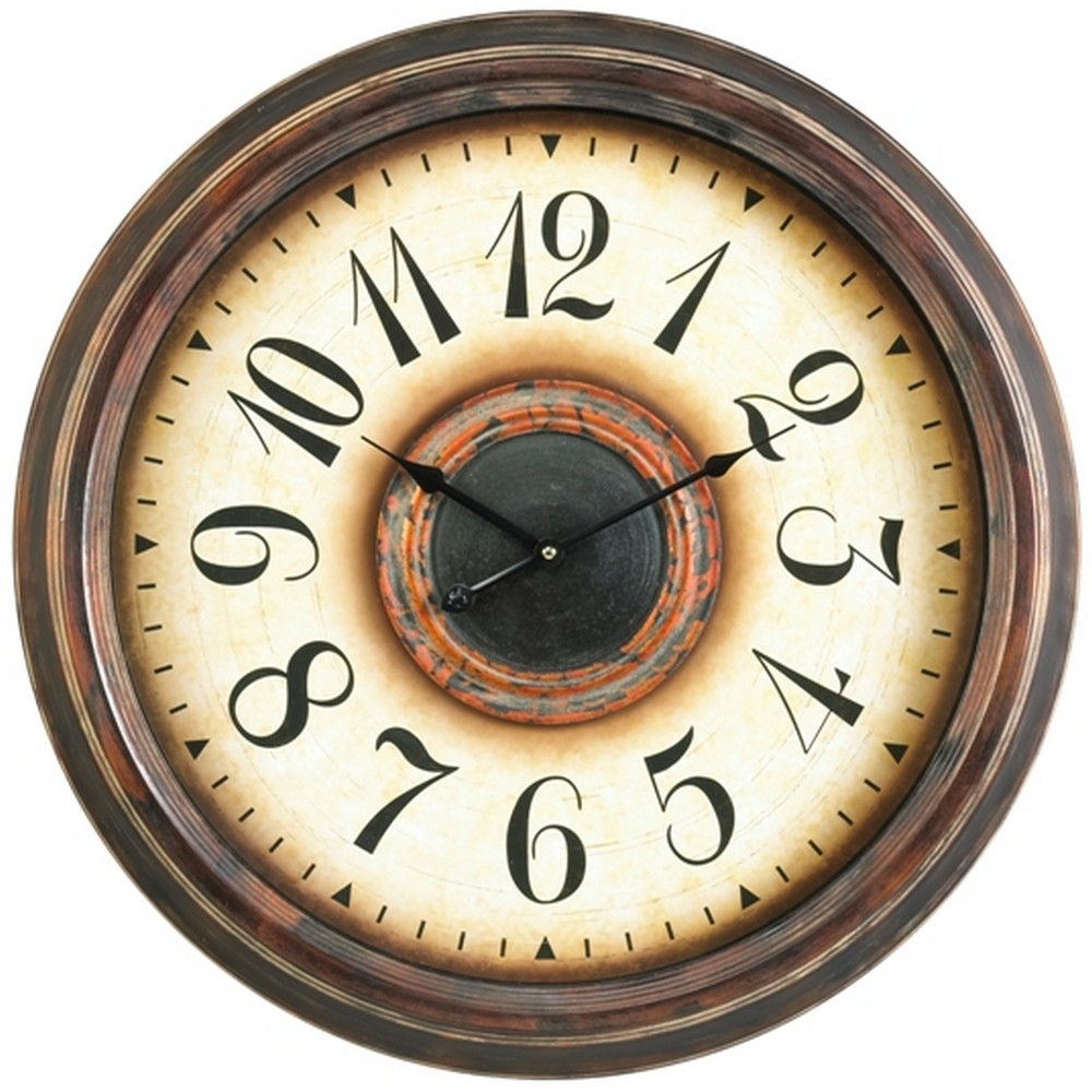 Oversized Wall Clocks Potter 24 Inch Wall Clock Www