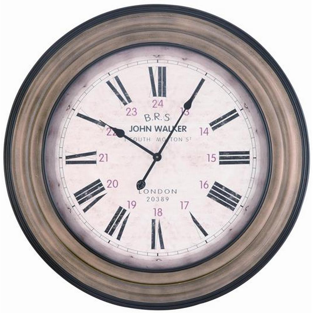 Decorative Wall Clock Cooper Classics Hamilton 4816