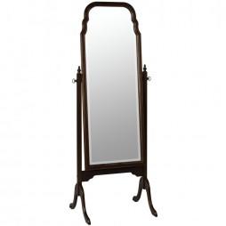Queen Anne Cheval Mirror 549