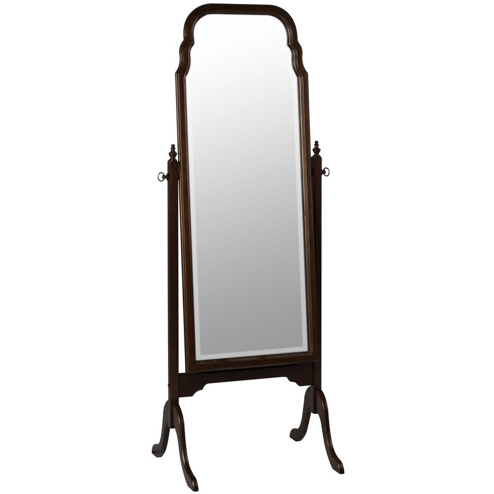 Queen anne cheval mirror 549 for Cheval mirror