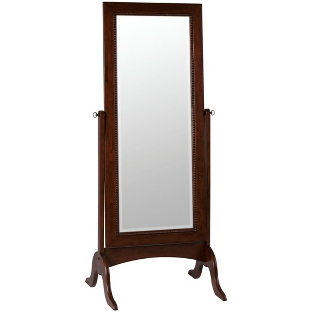 Oakes cheval mirror 6136 for Cheval mirror