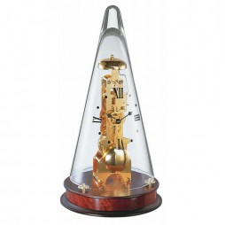 Hermle Leyton Table Clock With Skeleton Movement 22716-070791