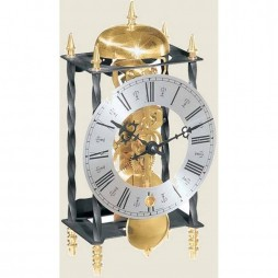 Hermle Galahad II Wrought Iron Table Clock 22734-000701