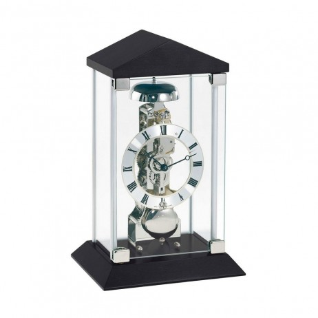 Hermle Barkingside Mantel Clock with Mechanical Skeleton Movement 22786-740791